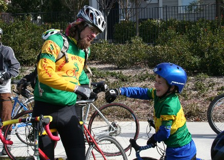 Newhall Bike is sponsoring an 8:15 family ride and 40 mile ride.
