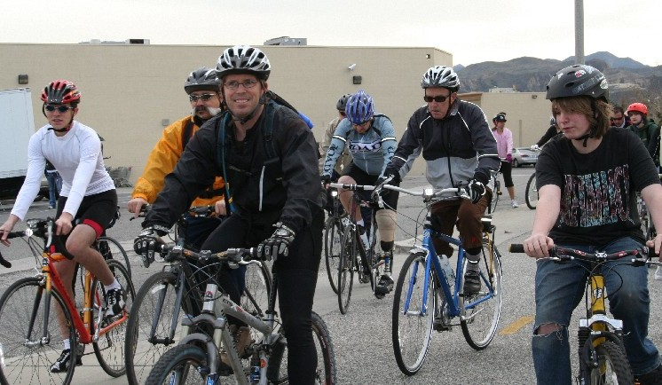 "Cycling to Earth Day is a great way to get in the spirit of the festival. (""Hit the Trail"" pictured)"