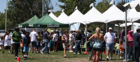 The City of Santa Clarita's Earth Day Festival and 20th Annual Arbor Day Celebration featured great weather a big crowds.