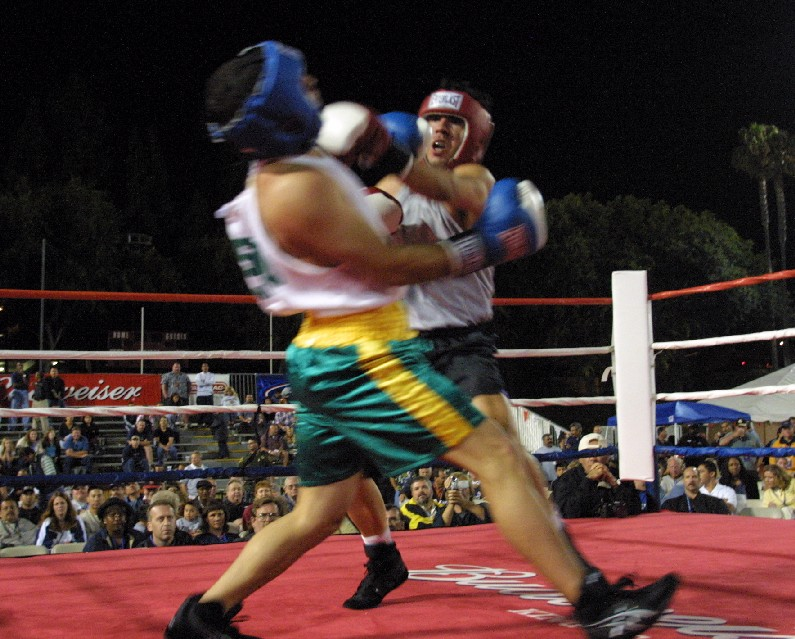 Boxing finishes tonight (pictured is a promotional photo from a previous year)
