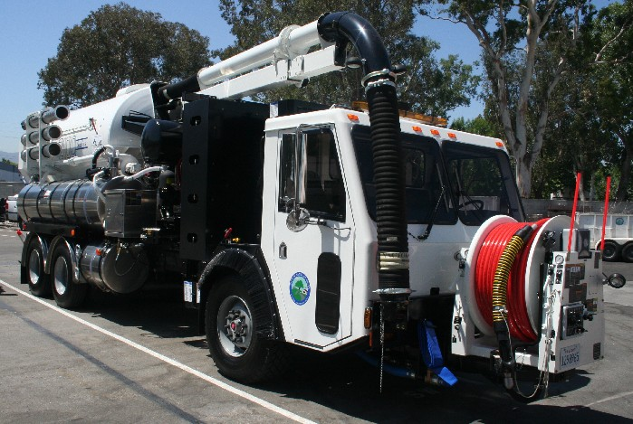 The Vactor is one serious vacum cleaner