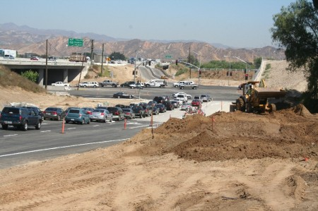 I-5/Magic Mountain Parkway Interchange Northbound off-ramp now open