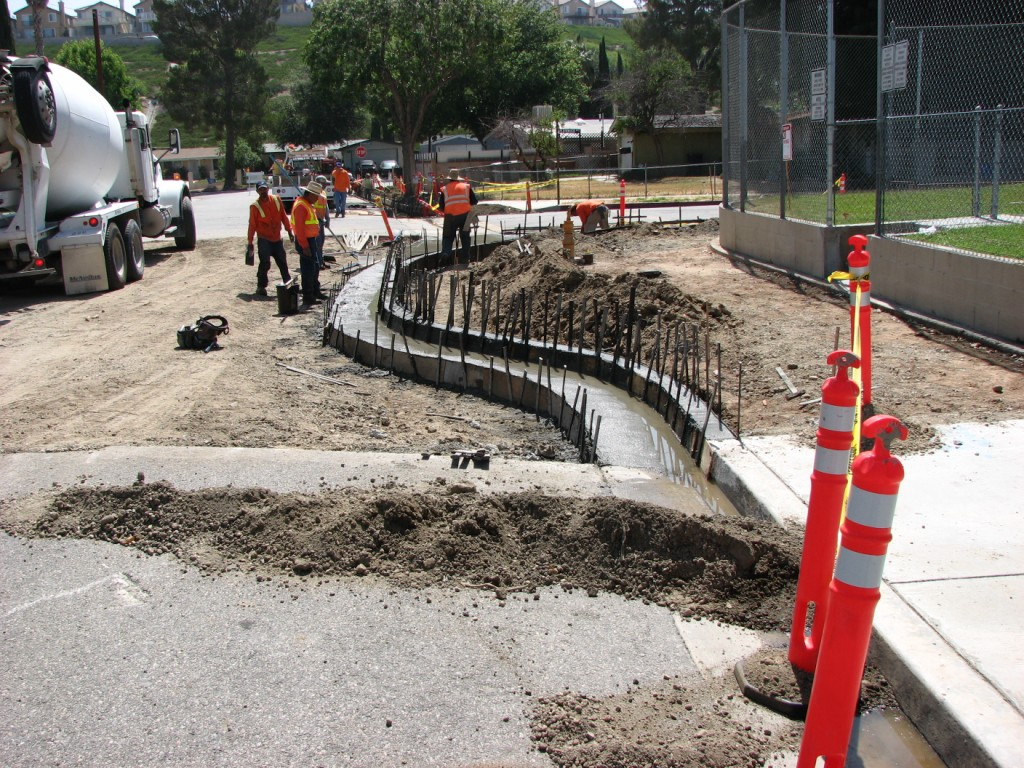 Safe Route to School improvements at Canyon Springs Elementary School