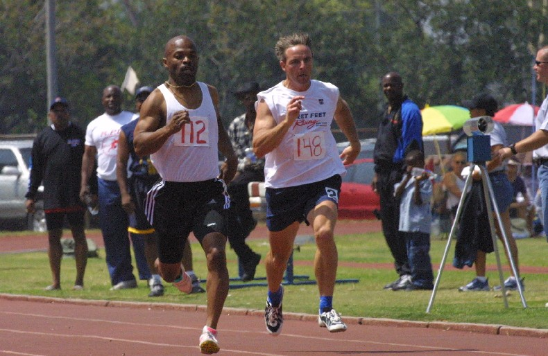 Track and field is among the many events at the games
