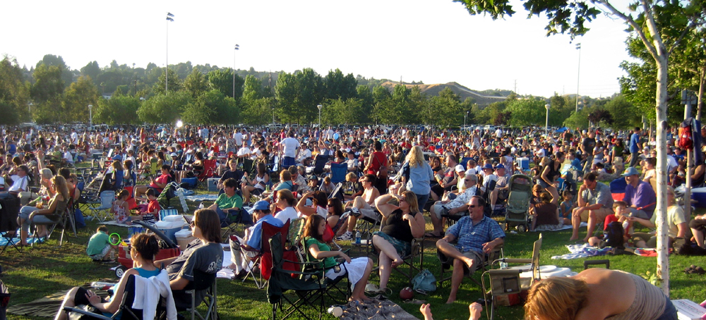 Concerts in the Parks draws a crowd