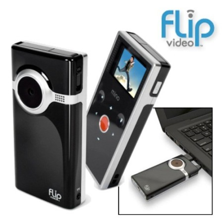 Pictured above is the contest winners grand prize-a Flip MinoHD Camcorder
