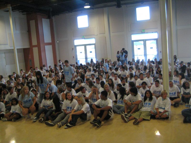 The City's 2008 Teen Summit was also highly attended by local youth.