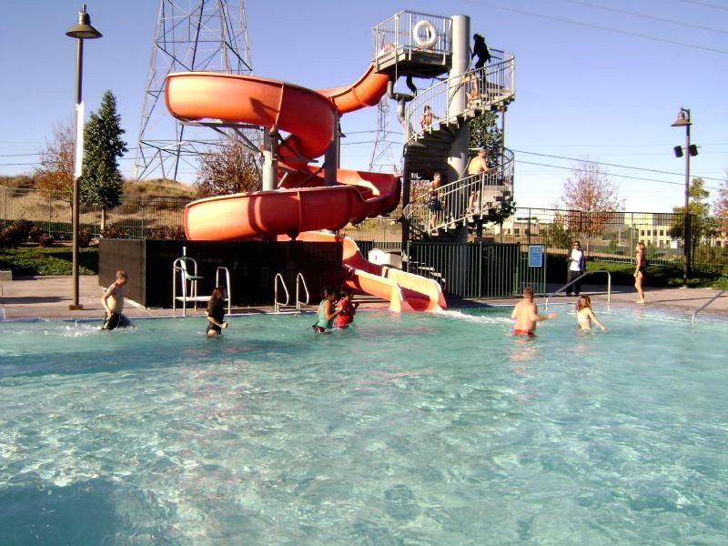 aquatic center waterslide pool | Santa Clarita City Briefs