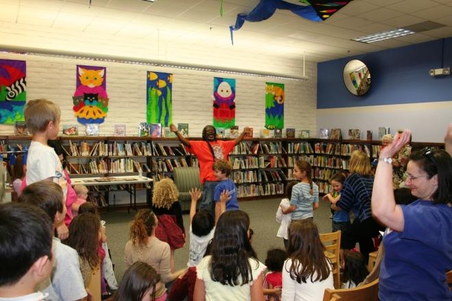 Story Time Valencia Library