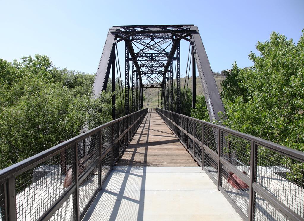 Iron Horse Trailhead Bridge