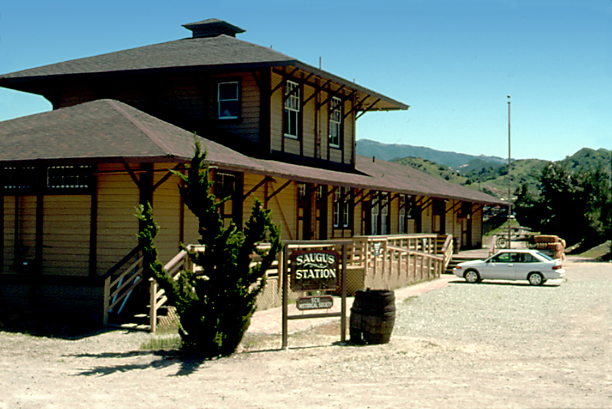 Saugus Train Station Old