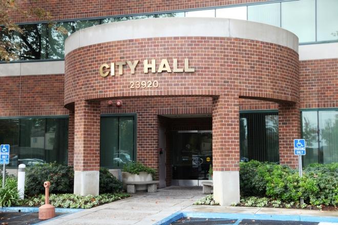 City Hall Side CU