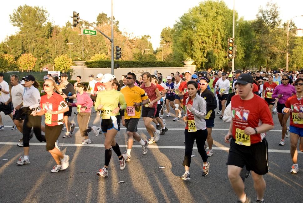 Marathon 2009 Runners