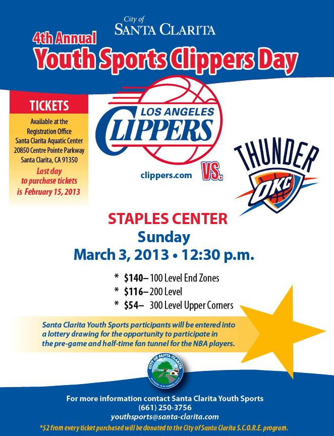 Youth Clippers Day 2013