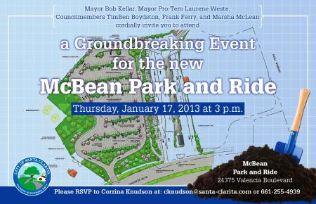 Park and Ride Groundbreaking