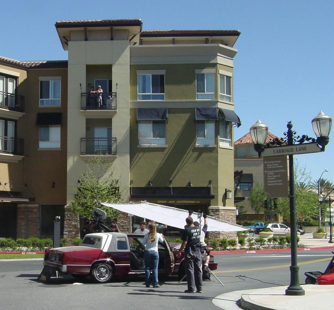 Town Center filming
