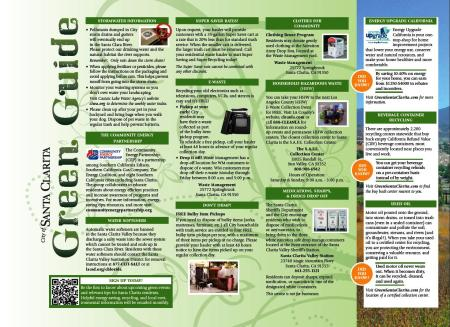 2013 Green Guide inside