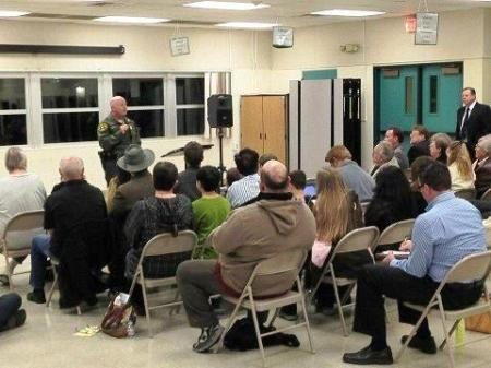 Paul Becker Town Hall Meeting Newhall