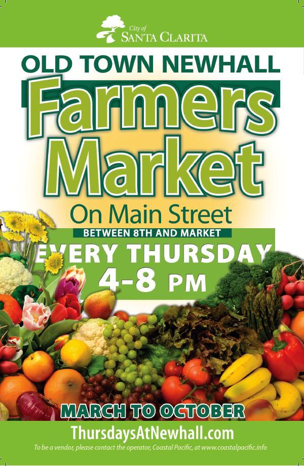 OTN Farmers Market Flyer Front