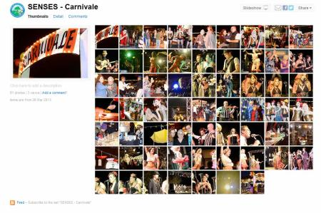 Senses Carnivale Flickr page