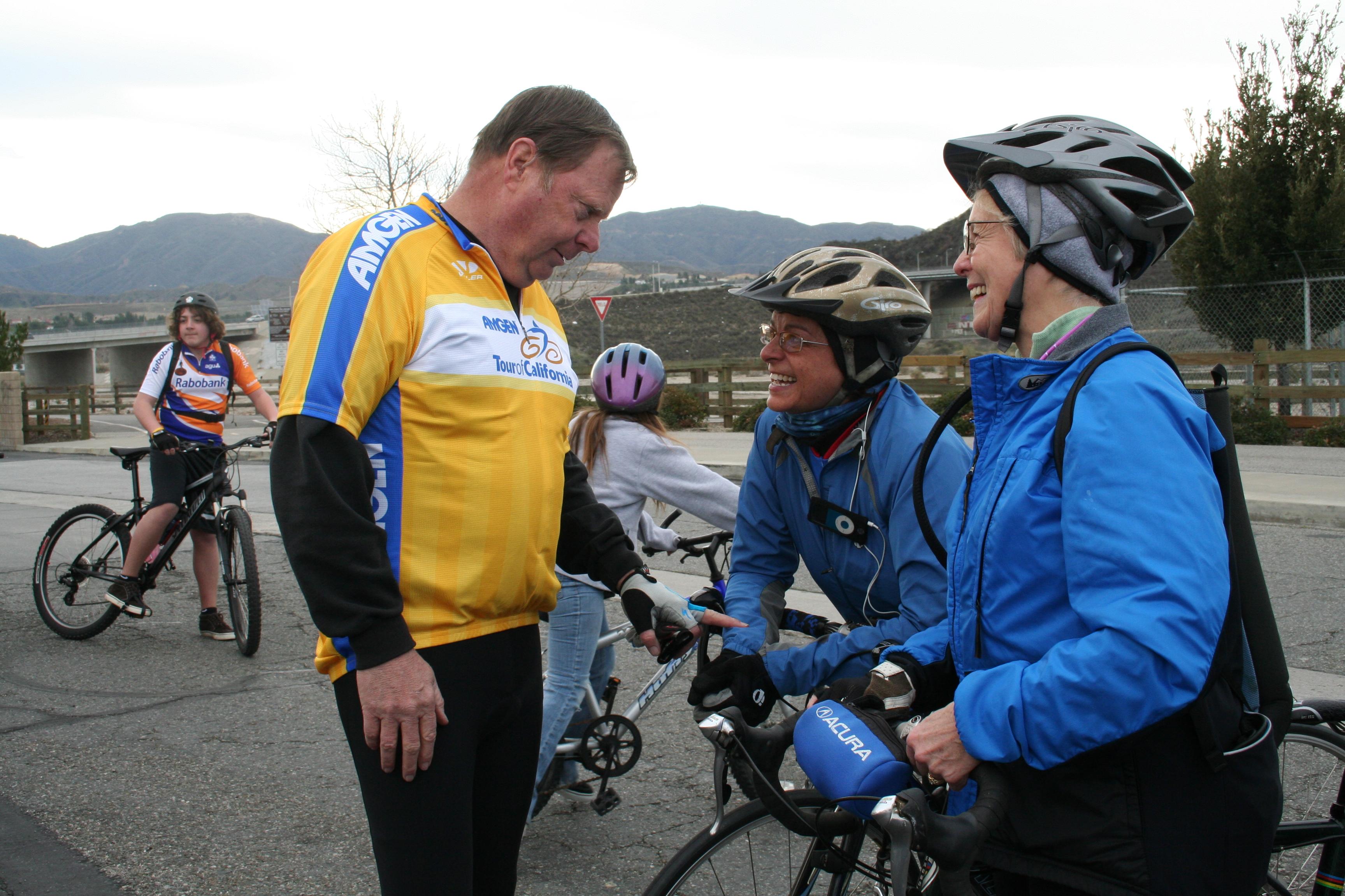 Hit the Trail Mayors Ride Bike Ride 1