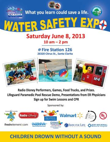 Water Safety Expo 2013 Flyer