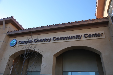 Canyon COuntry Community Center Sign CCCC