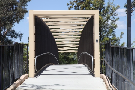 Pedestrian Paseo Bridge 1