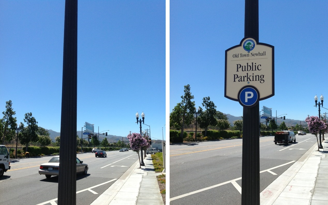 OTN Parking Sign Before After 2