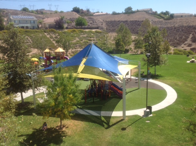 Aerial of Shade Structure 8 2013