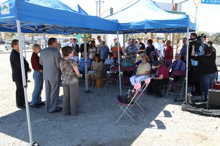 SR 14 Beautification Ground Breaking 2