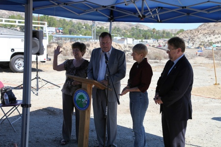 SR 14 Beautification Ground Breaking 3