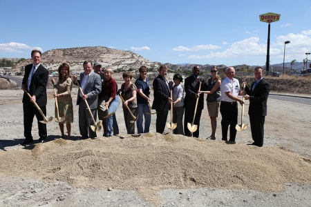 SR 14 Beautification Ground Breaking 5