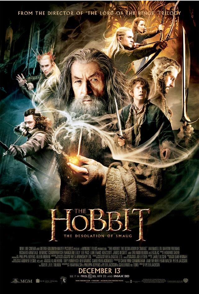 The Hobbit DOS Poster