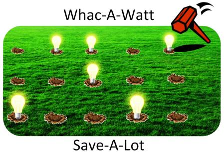 Whac-a-watt flyer