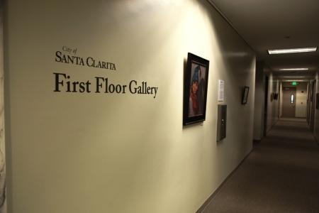 First Floor Art Gallery Shadow in Art 5