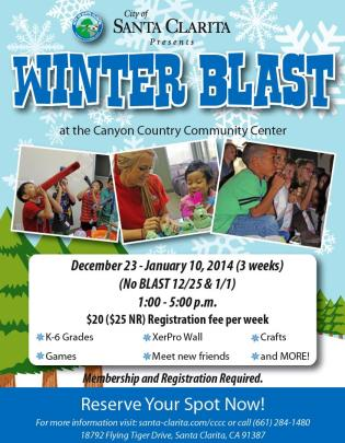 Winter Blast Flyer 2013