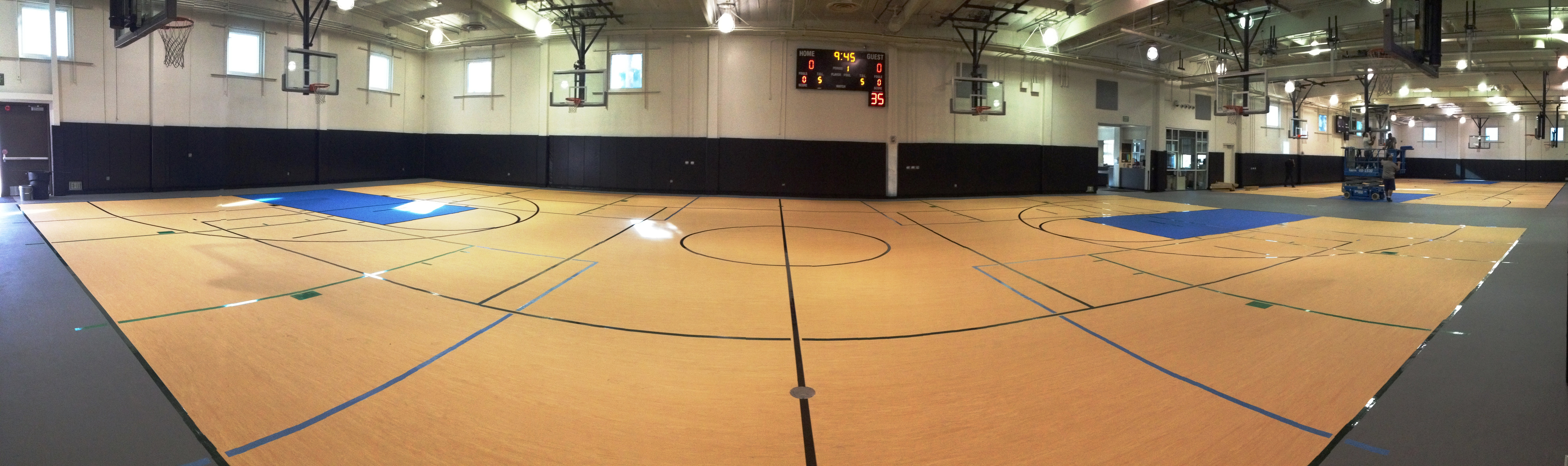 Sports Complex Gym Pano