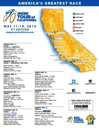 ATOC 2014 Full Race Map