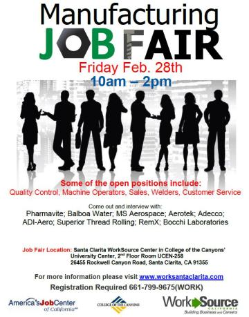 Manufacturing Job Fair 2014