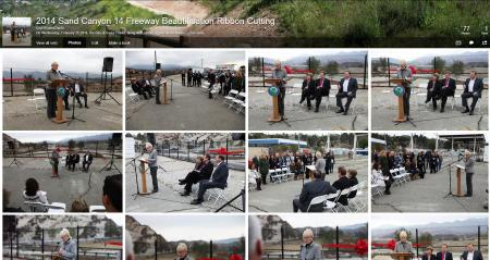 Sand Canyon 14 Freeway Ribbon Cutting Flickr