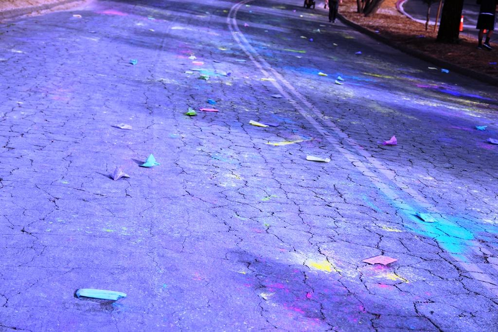 Santa Colorita Run Color Run 201405