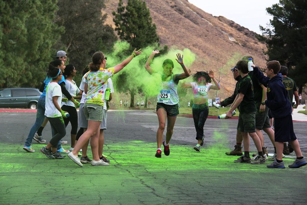 Santa Colorita Run Color Run 201406