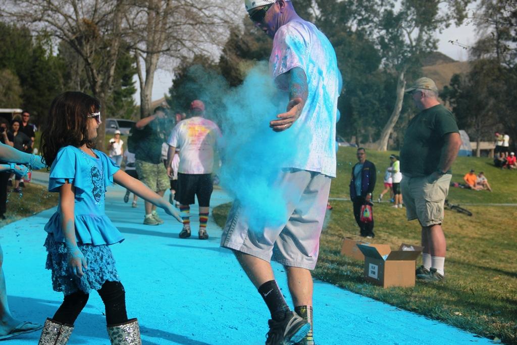Santa Colorita Run Color Run 201410