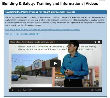 Building and Safety Video