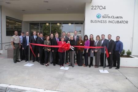 Business Incubator Grand Opening 2014 4