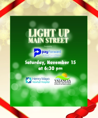 Light Up Main Street Mag of Santa Clarita Ad 2014 BG