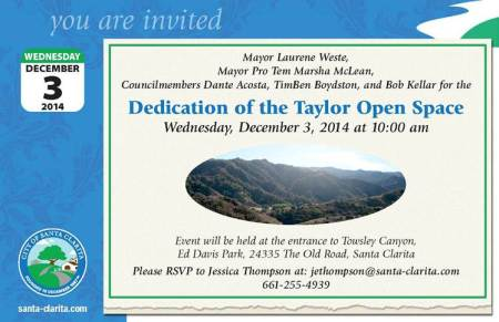 Taylor Property Invitation 2014