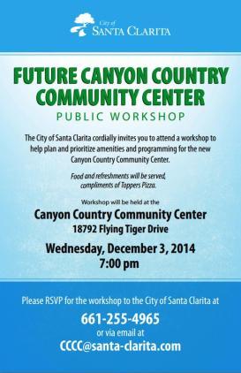 Future CCCC Workshop