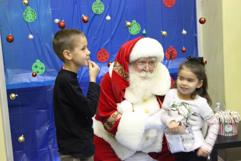 MIlk and Cookies with Santa 2014 4